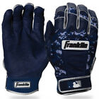 NEW Original Franklin MLB CFX PRO ADULT Baseball  BATTING Gloves CAMO Navy on Ebay