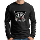 Triumph Bonneville Bonnie Motorcycle Superbikes Long Sleeve T-Shirt TBV-LS-0006 $35.99 AUD on eBay