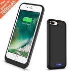 6000mAh Rechargeable Charger Case Portable Charging Case Compatible iPhone X/XS