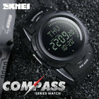 SKMEI Sports Compass Countdown LED Digital Watch Outdoor Military Wrist Watches  image