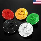 Keyless CNC Fuel Gas Tanks Cap Cover Fit For Triumph Speed Triple 1050 05 -08 US