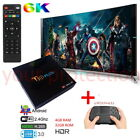 SMART TV BOX Q Plus ANDROID 9.0 4GB RAM 64GB 6K IPTV WIFI DAZN TASTIERA WIRELESS