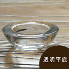 Clear Glass DIY Cup Candle Table Windbreaker Homemade Candle 2Cup P5