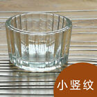 Clear Glass DIY Cup Candle Table Windbreaker Homemade 2Candle2 P5