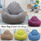 Large Bean Bag Chairs Couch Sofa Cover Indoor Lazy Lounger for Adult Kids-3color