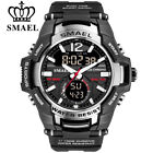 SMAEL Men Digital Quartz Watch Big Case Fashion Sport LED Electronic Wristwatch  image