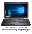 "Dell Latitude Laptop 15.6"" Intel i5 2TB SSD 🚩16GB RAM 🚩WiFI HDMI + Win 10 Pro"