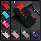 Colorful Leather Wallet Card Slots Stand Case Phone Cover For Apple Sony Xiaomi