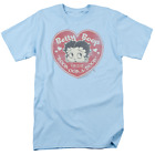 Betty Boop Fan Club Heart Short Sleeve T-Shirt Licensed Graphic SM-5X $25.83 USD on eBay