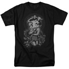 Betty Boop Fashion Roses Short Sleeve T-Shirt Licensed Graphic SM-7X $49.99 USD on eBay