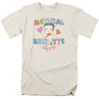 Betty Boop Natural Brunette Short Sleeve T-Shirt Licensed Graphic SM-5X $27.29 USD on eBay