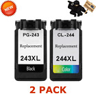 Kyпить PG243XL CL244XL Black Color Ink Set For Canon Pixma iP2820 MG2520 MG2550 MX495 на еВаy.соm