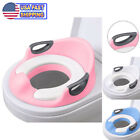 Kyпить Potty Trainer Toilet Chair Seat For Kids Boys Girls Toddlers - Cushion Handles  на еВаy.соm