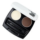Avon Mark Perfect Brow Styling Duo Kit - Choose Blonde or Deep Brown - AUS Stock