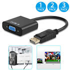 1080P DisplayPort DP Male to VGA Female Converter Adapter Cable For PC Laptop