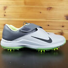 Nike Tiger Woods TW '17 Golf Shoes Men's 880955-002 Gray Goast Green