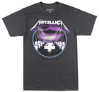METALLICA MASTER OF PUPPETS T-SHIRT CHARCOAL METAL MUSIC TEE BRAVADO MENS image