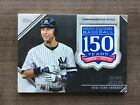 2019 Topps Series 2 150th Anniversary Commemorative Patch ~ Pick your Card on Ebay