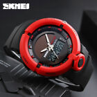 Men's Solar Powered Watches Digital Analog Date Quartz Sport Outdoor Wristwatch image