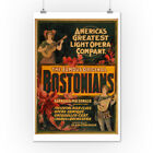 Bostonians America's Greatest Light Opera Poster (Posters, Wood & Metal Signs)