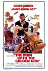 65639 The Man with the Golden Gun Movie Roger Moore Wall Poster Print UK £10.95 GBP on eBay