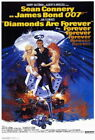 65749 Diamonds Are Forever Movie ean Connery Wall Poster Print UK £25.95 GBP on eBay