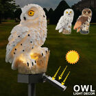 Owl Solar Led Garden Lights Lawn Ornament Outdoor Waterproof Novelty Lamp Decor
