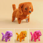 Funny Plush Walking Barking Battery Electronic Animal Dog Toy For Kids Gift