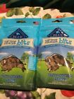 2 Blue Buffalo blue bites Chicken Treats Puppy Dog Healthy Natural