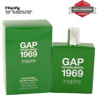 Gap 1969 Inspire Cologne 3.4 oz EDT Spray for MEN by Gap