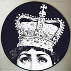 Luxury Round Circular Carpet/Rug/Mat. Royal Crown Theme