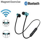 hot magnetic in ear headphone bluetooth stereo earphone headset wireless earbuds