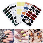 Nail Wraps Flower Patterns Mixed Size Full Cover 3D Nagel Aufkleber Dekorationen