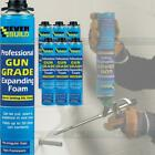 Everbuild Gun Grade Expanding Foam Filler Professional Insualtion Foam 750ml Can