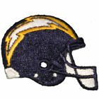 Los Angeles/San Diego Chargers 2-1/2 inch Embroidered Helmet Iron-On Patch $50.0 USD on eBay