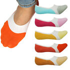 Women No Show Liner Socks Cotton Blend Non Slip Low Cut Fake Lot Invisible Sock