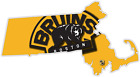 Massachusetts Boston Bruins Ice Hockey LOGO Vinyl Sticker Decal Cornhole Wall $23.99 USD on eBay