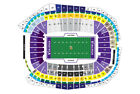 (2) Detroit Lions vs Minnesota Vikings Tickets 12/8/19 Lowers *Row 12 *Aisle on eBay