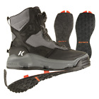 Korkers DarkHorse Wading Boots - Felt and Kling-On