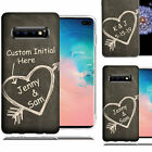 Personalized Custom Text Letter Chalkboard Remember Case Cover For Samsung Phone