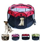 Pet Dog Cat Playpen Tent Exercise Fence Kennel Cage Soft Crate House Portable US