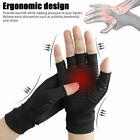 2x Arthritis Gloves Sports Health Half Finger Recovery Therapeutic Compression $10.99 USD on eBay