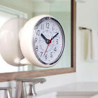4'' Wall CLock With Suction Cup WaterProof Home Kitchen Bathroom Wall Decors EB