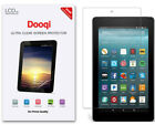 3X For Amazon Fire HD 10 HD 8 7 Tablet (2017/2019)HD Clear Screen Protector Film