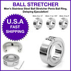 Stainless Steel Ball Stretcher Penis Ball Ring Male Delaying Ejaculation ED AID $18.22 USD on eBay