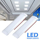 2/4pcs 12v Led Interior Lights Doom Roof Light For Car Rv Camper Caravan Camping
