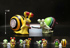 2 Style One Piece Snail Phone Law & Donquixote Den Den Mushi PVC Figure Toy Gift