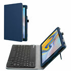 Fintie Folio Leather Case for Samsung Galaxy Tab A 10.5 2018 W/Wireless Keyboard