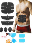 2019 Electric ABS Simulator EMS Training Abdominal Muscle Exerciser Fat-Burner  image