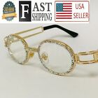 HipHop Quavo Migos Diamond Rappers Glasses Iced Out Shinny Multicolor Sunglasses